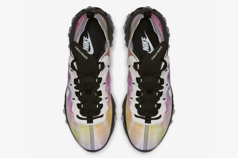 Nike React Element 55 tie & dye photos leak