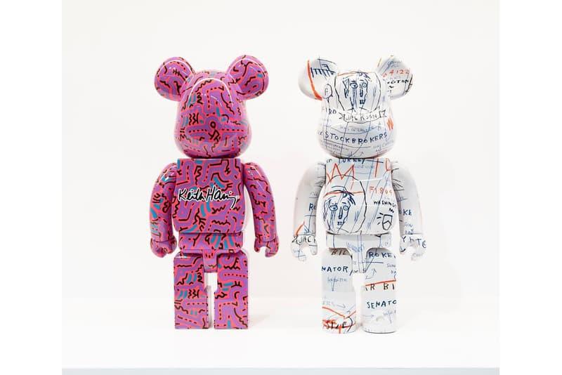 NOUS Paris Be@rbrick Jean-michel basquiat keith haring