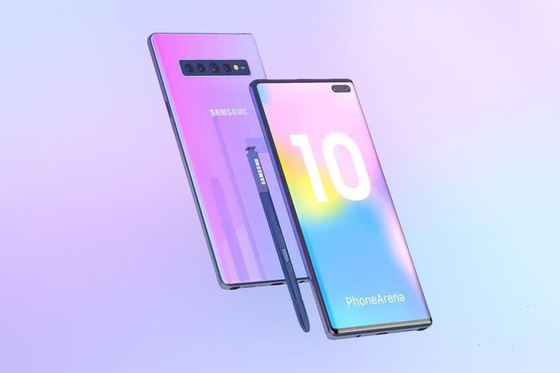 Photo Des Concepts Samsung Galaxy Note 10