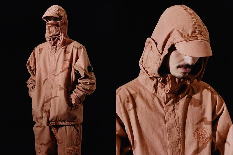 Photo De La Collaboration Supreme x Stone Island