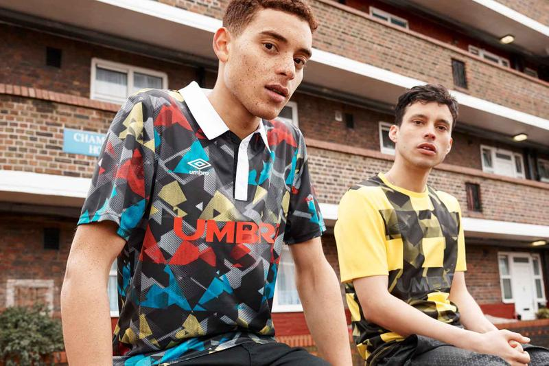 Umbro maillots collection SSG