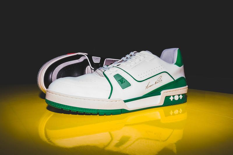 Virgil Abloh Louis Vuitton Sneakers LV Trainers Photos