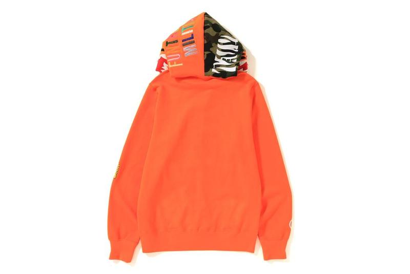 BAPE France hoodies tiger full-zip photos