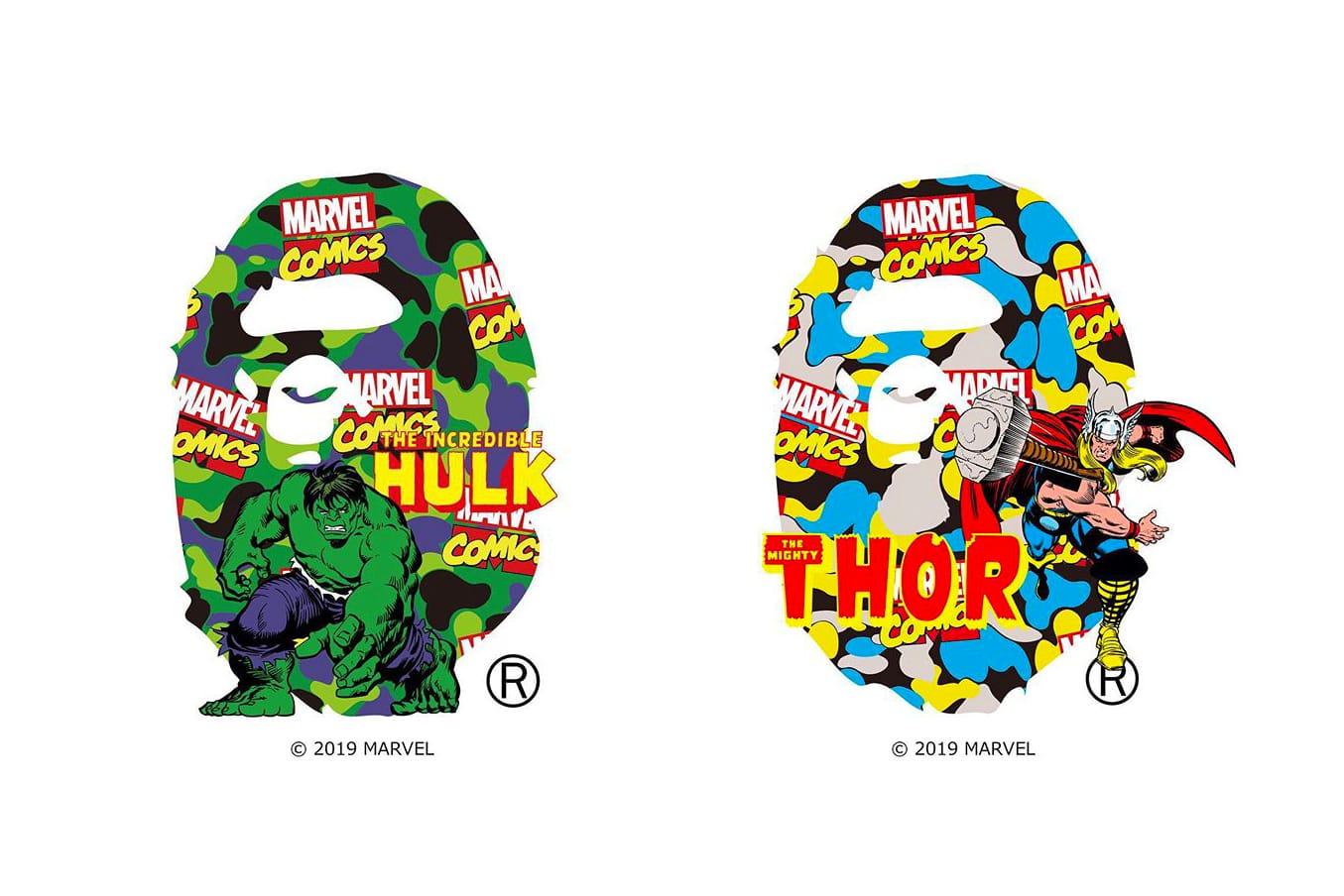 BAPE tease sa collaboration avec Marvel