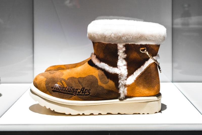 BAPE UGG sortie date collection