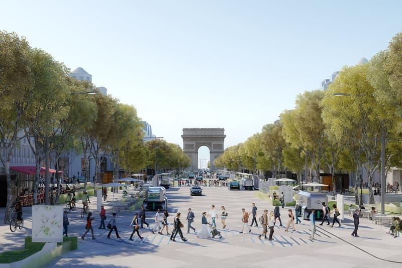 Champs-Élysées avenue 204 projet