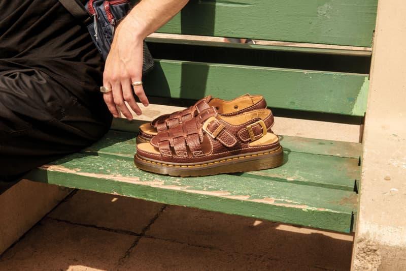 Lookbook des sandales Core de Dr. Martens