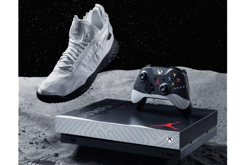 Xbox One X Jordan concours custom console