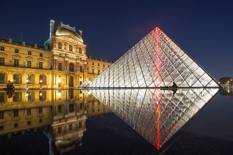 Louvre Pyramide Airbnb concours nuit chambre visite inscription