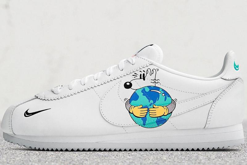 Photo de la collab Nike x Steven Harrington