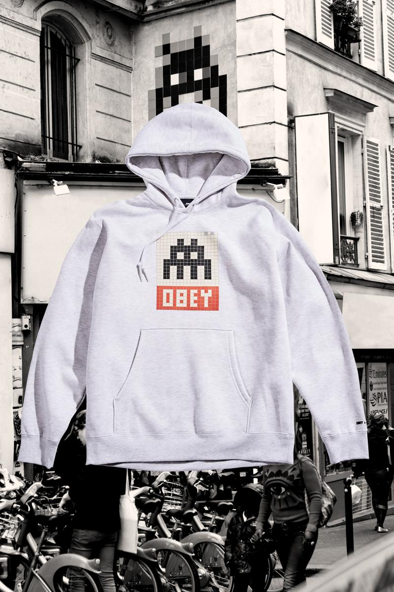 OBEY Invader Collection Photos