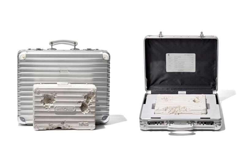 Photo de la valise RIMOWA x Daniel Arsham