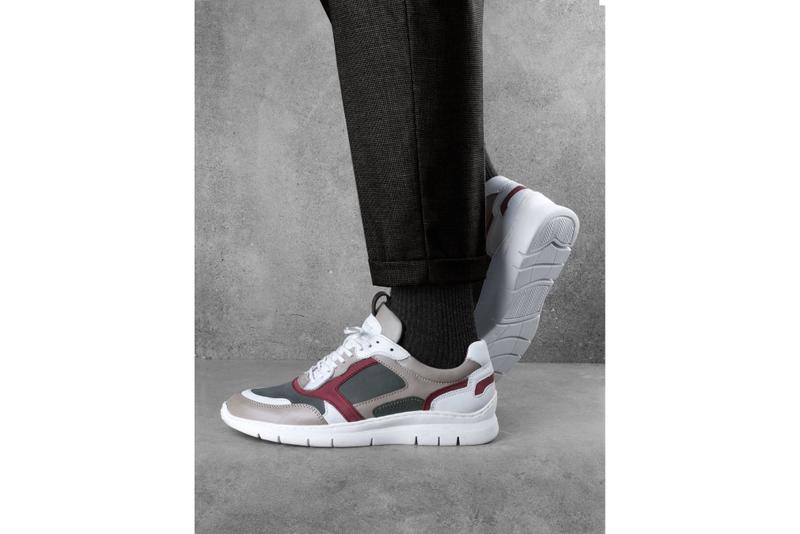 sneakers anamorphose studio superposition runner france photos sortie