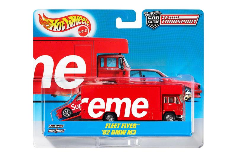 Photo du camion Hot Wheels x Supreme