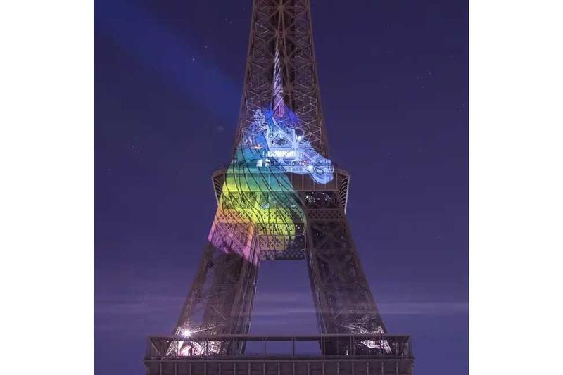 Tour Eiffel John Hammon Licorne Projection Photos art