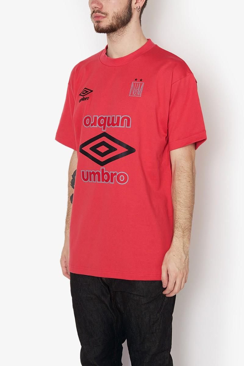 Photo de la collaboration Umbro x N.Hoolywood