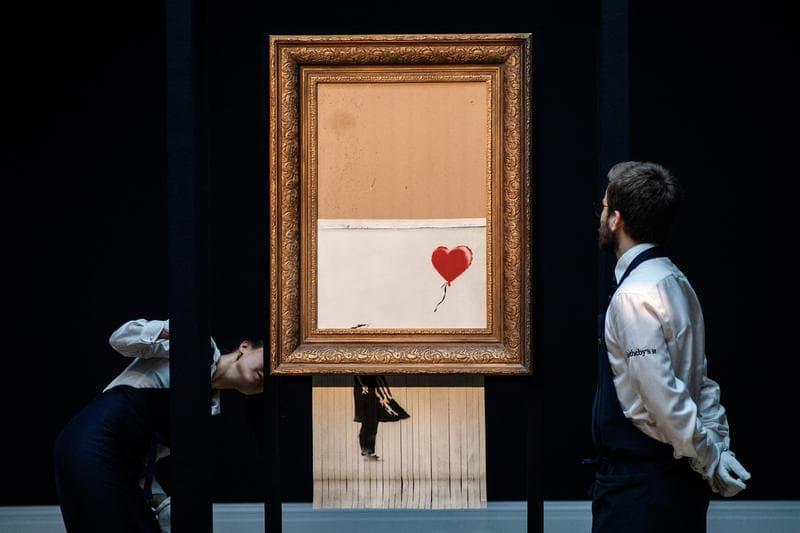 Photo de l'œuvre de Banksy