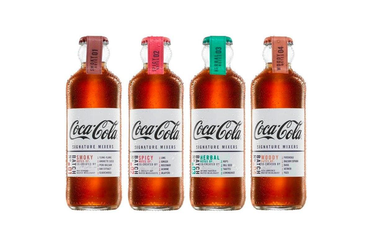 Coca-Cola lance des boissons haut de gamme pour créer des cocktails de luxe