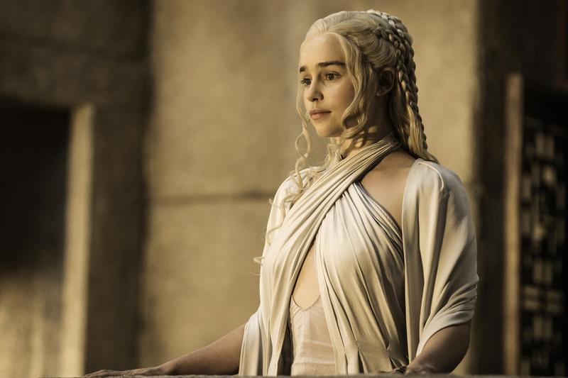 Game of thrones daenerys emilia clarke reaction interview