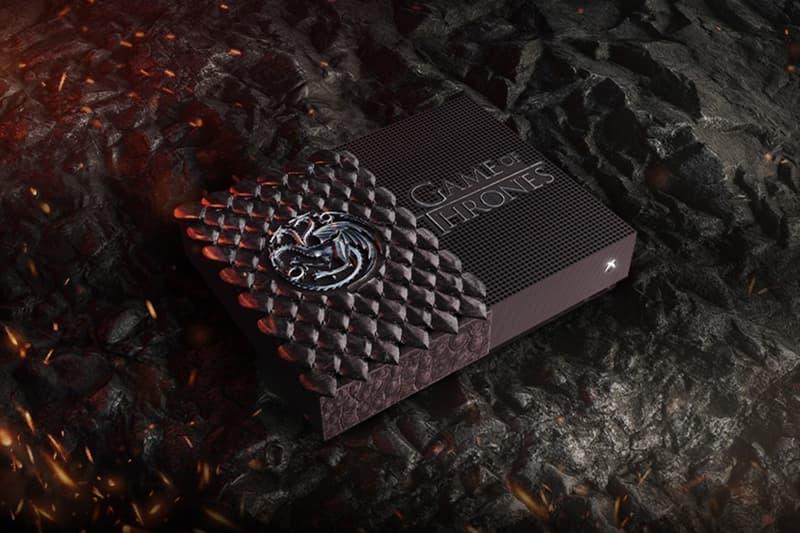 Game of Thrones Xbox One S concours custom