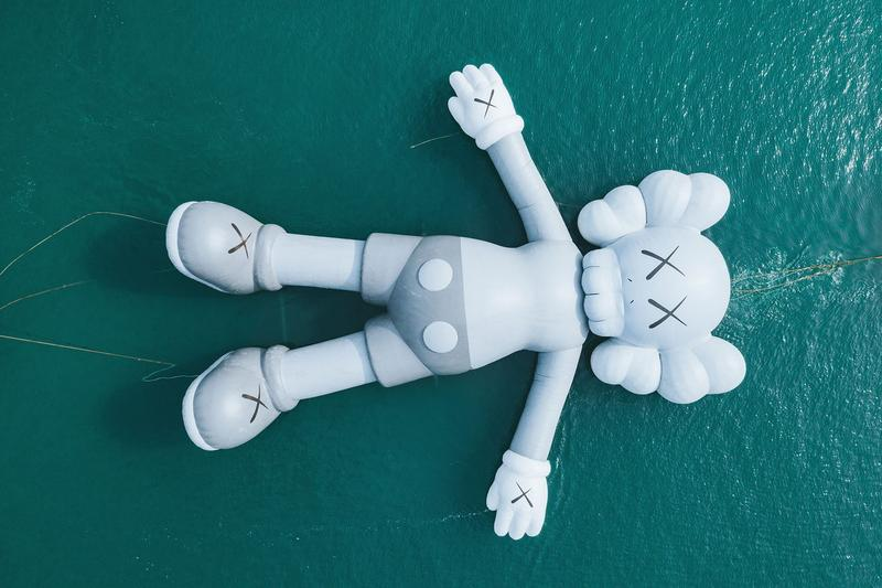 KAWS uniqlo companion collection photos video