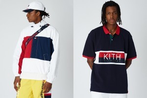 KITH droppe sa nouvelle collaboration avec Tommy Hilfiger
