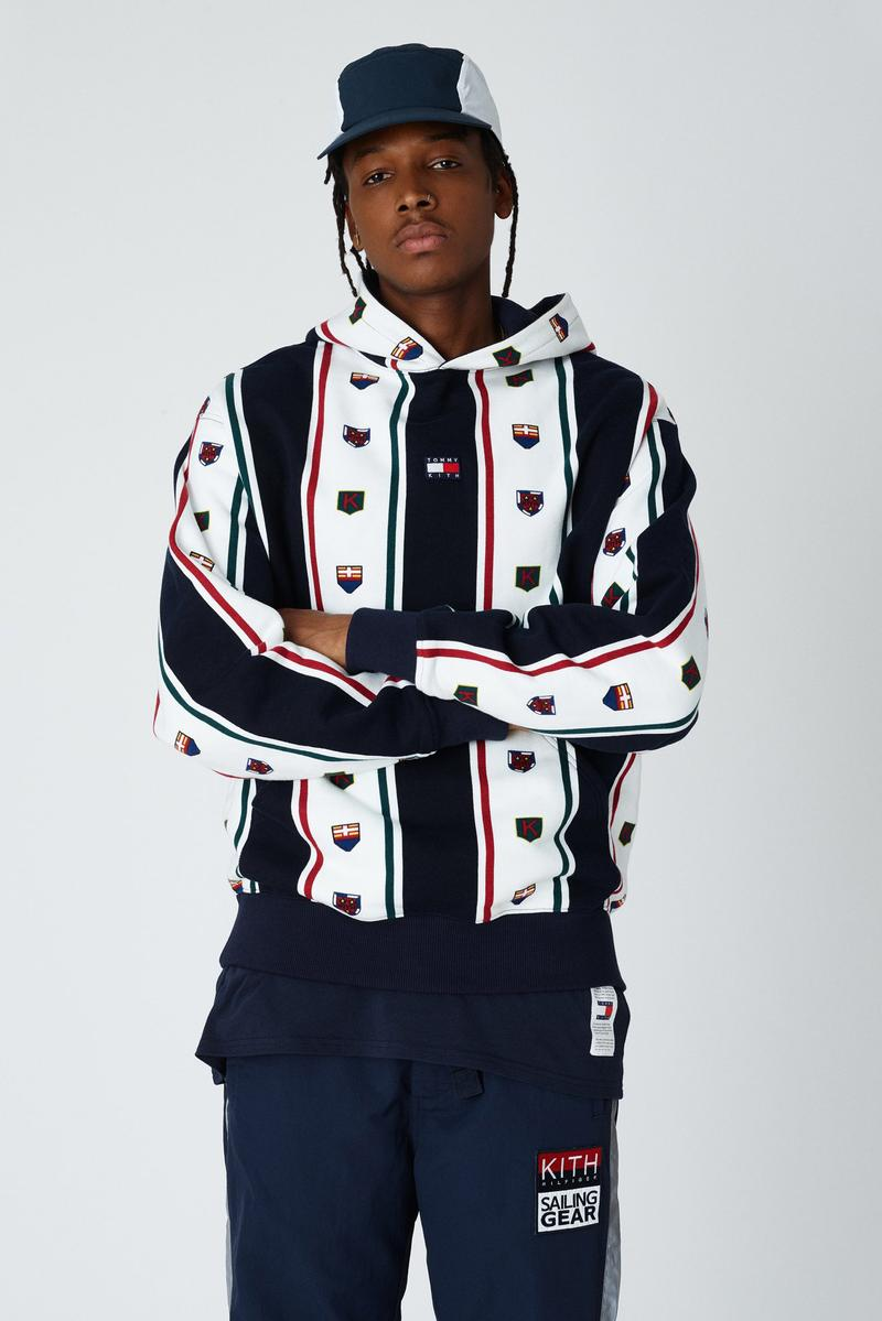 KITH Tommy Hilfiger collection printemps été 2019 drop photos