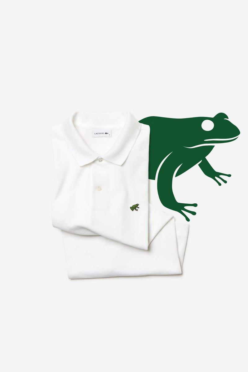 Lacoste save our species collection animaux logos