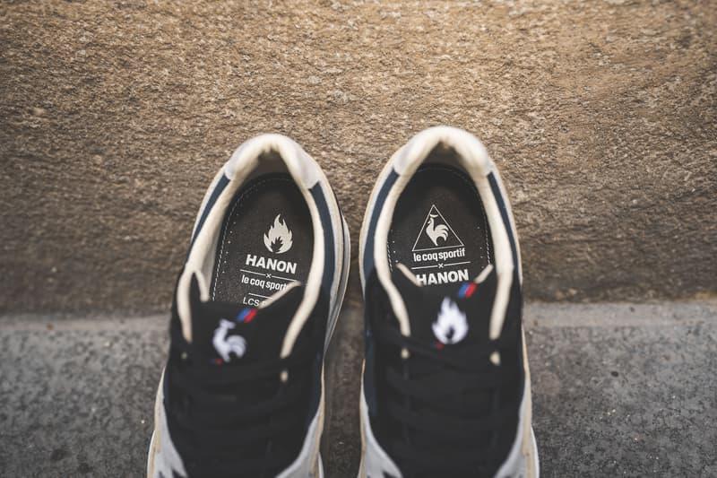 Le Coq Sportif Hanon R800 sneaker photos