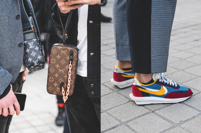 Photo de Louis Vuitton et Nike