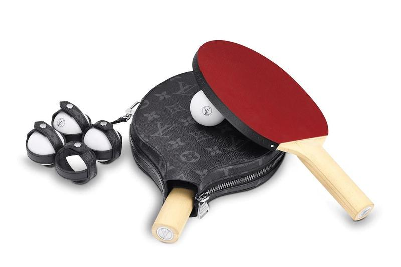 Photo des raquettes de ping-pong Louis Vuitton