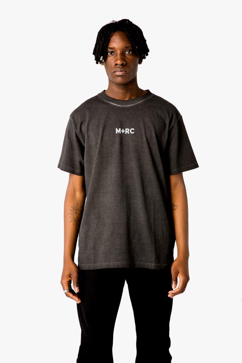 MR+C Noir collection printemps été 2019 drop