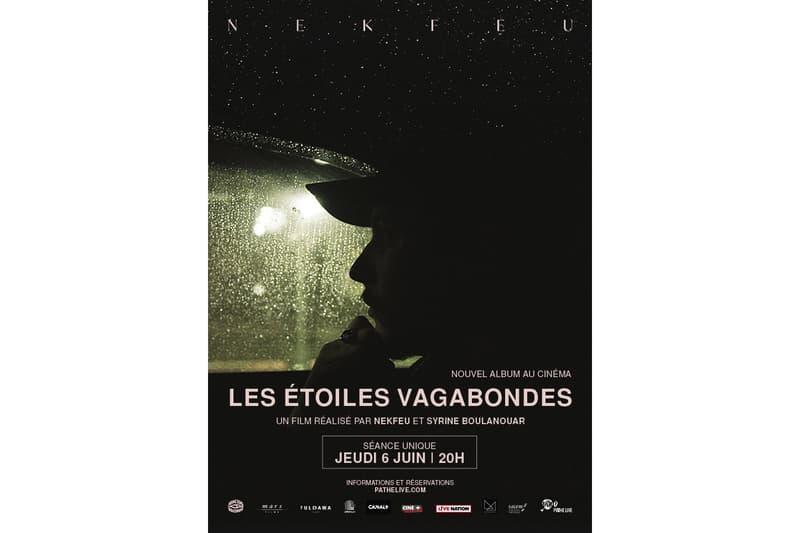 Nekfeu album sortie nouveau documentaire cinema date
