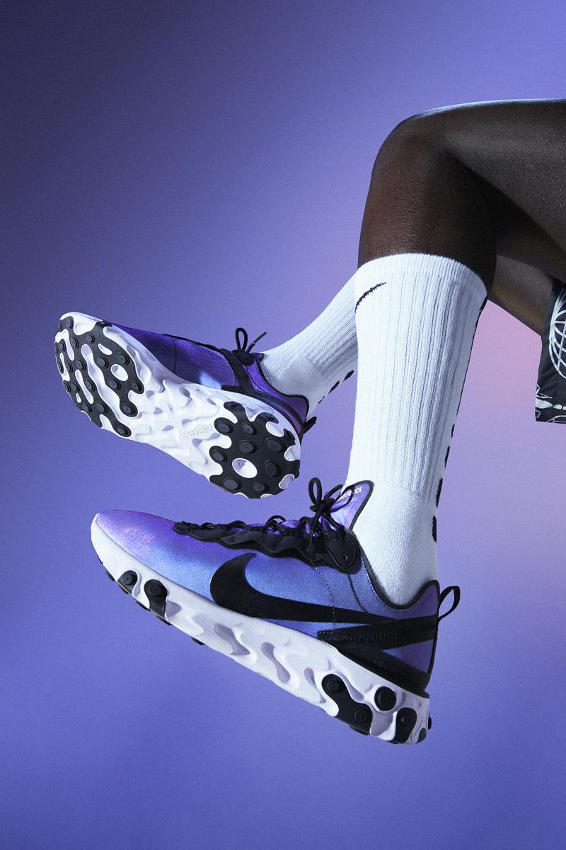 Dembélé nike react element 55 campagne photos