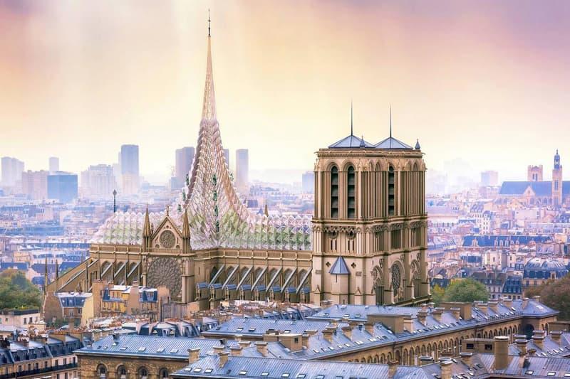 Photo Notre-Dame reconstruction