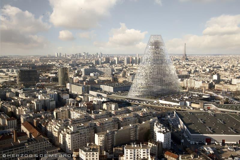 Photo du gratte-ciel d'Herzog et de Meuron