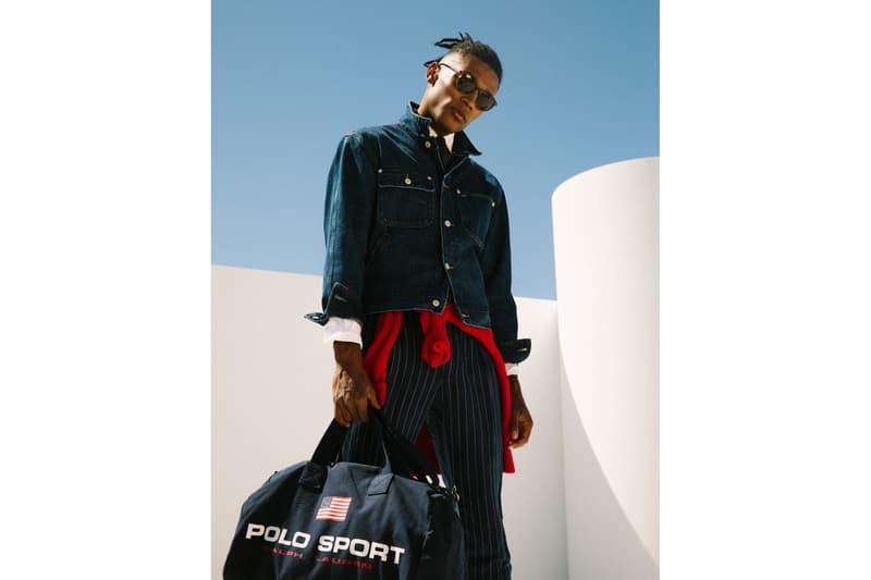 Ralph Lauren Polo Sport collection Silver Denim photos