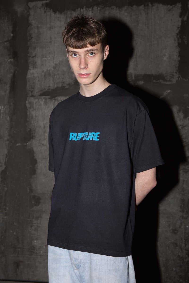 RUPTURE collection printemps été 2019 rave lookbook