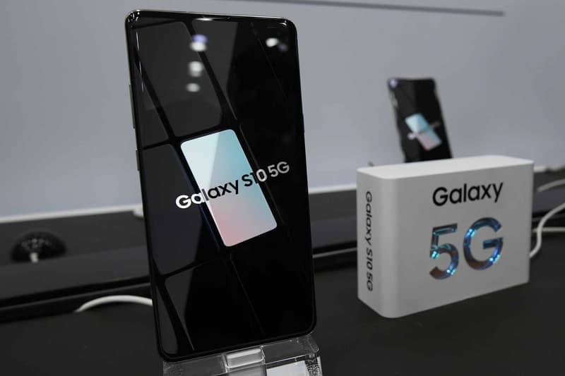 samsung galaxy s10 5G vitesse performance test vidéo