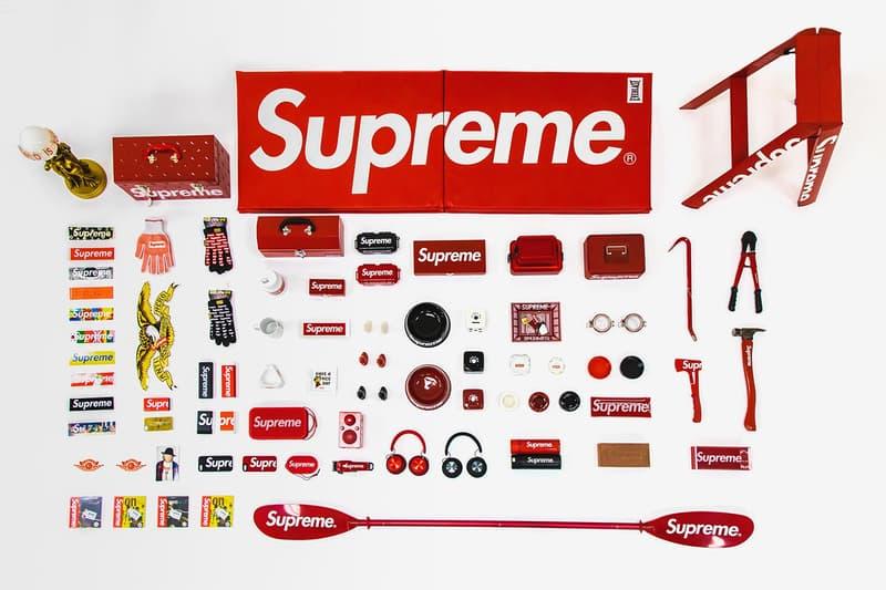 Supreme accessoire collection encheres vente Sotheby's
