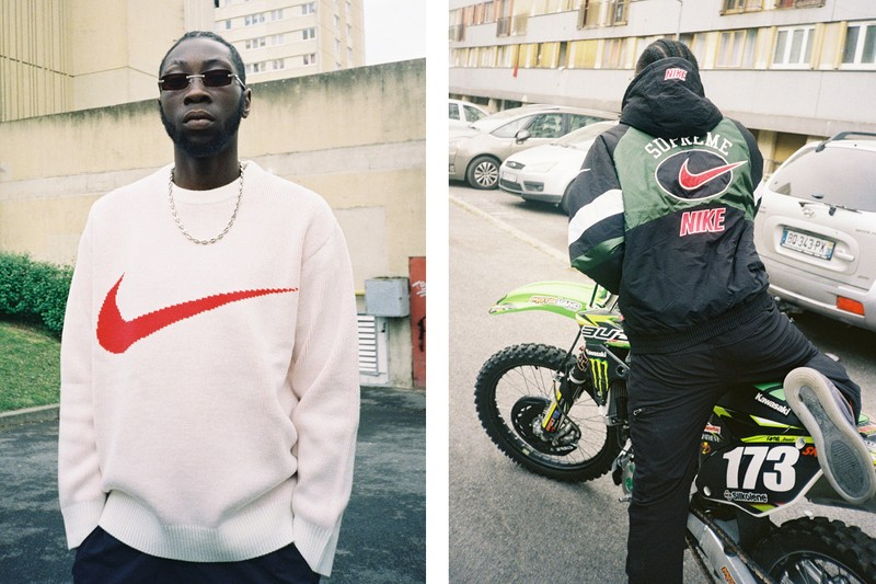 Supreme et Nike collaborent sur une collection sportswear rétro