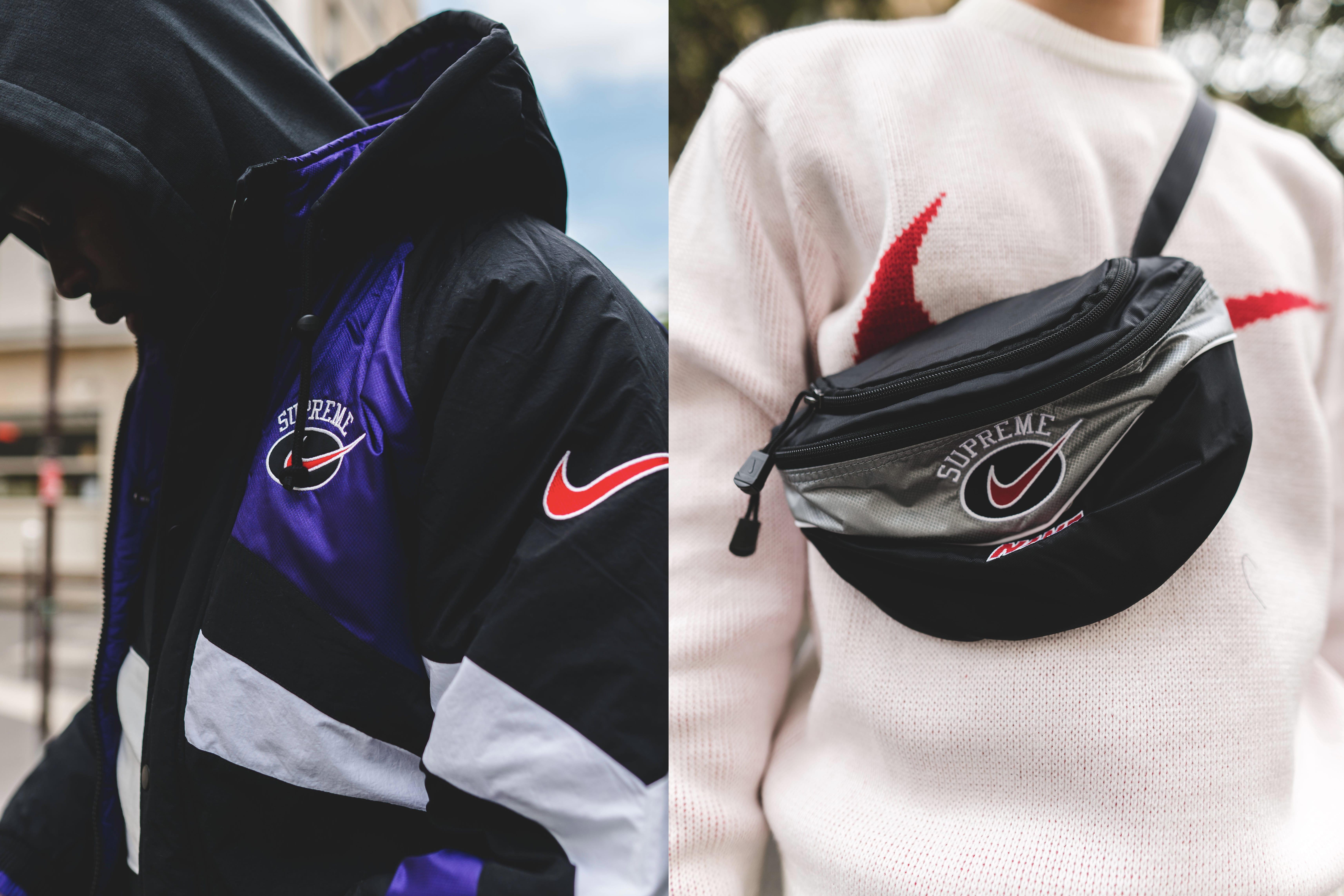 La collab Supreme x Nike s'affiche dans les rues de Paris
