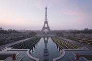 Nouveau parc, espace entièrement piéton... Voici à quoi ressemblera l'espace autour de la Tour Eiffel pour les JO 2024