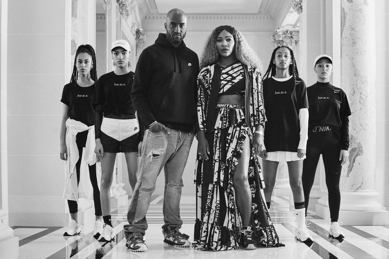 Photo de la collection Serena Williams par Virgil Abloh et Nike