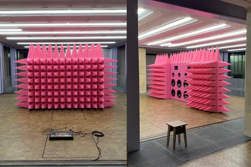 Photo de l'installation de Virgil Abloh