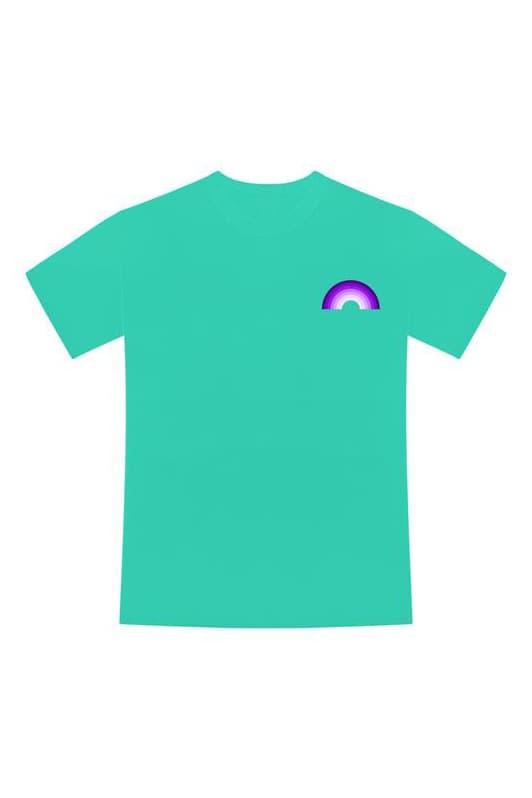 Booba merch arc en ciel pgp t-shirt photos shop