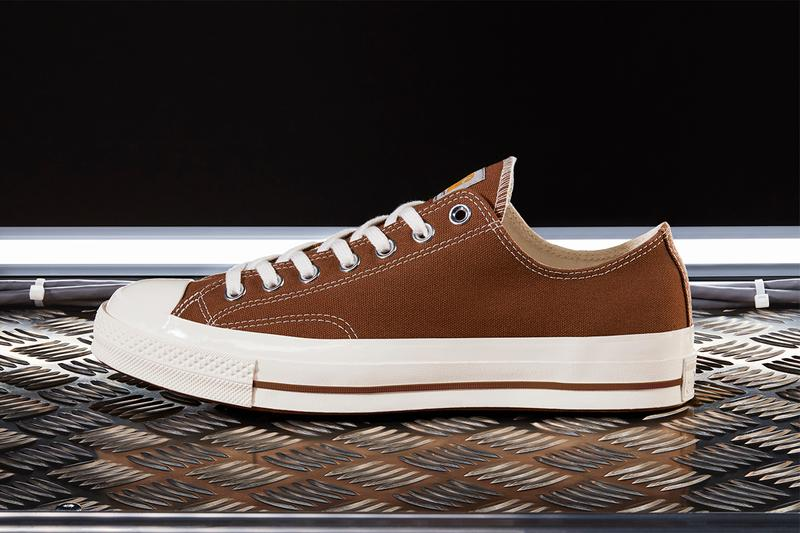 Converse Carhartt WIP chuck 70 low photos sortie