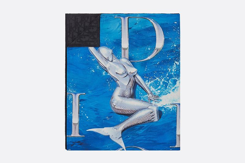 Dior kim jones collection beachwear sorayama photos
