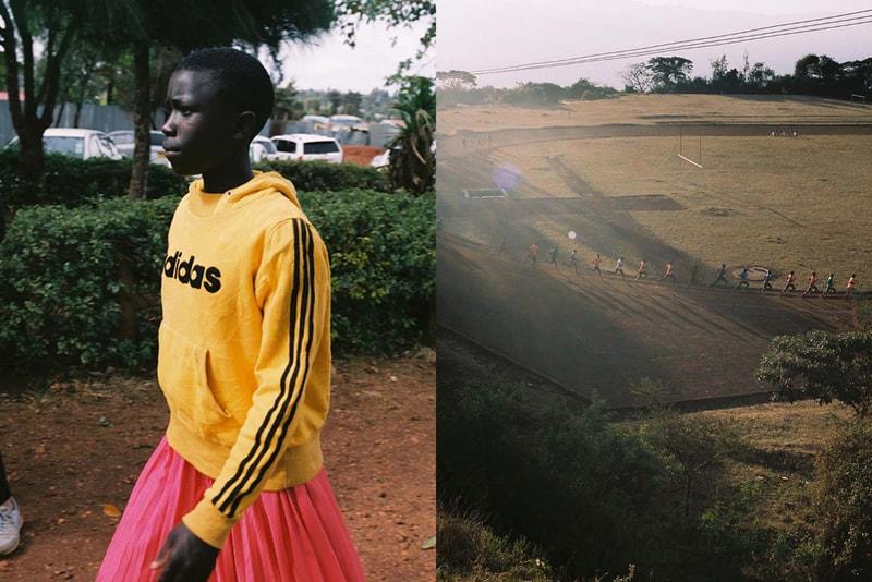Le shop français Distance présente son tout premier livre dédié à la culture running au Kenya