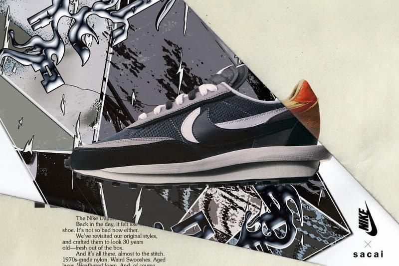 sacai Nike ldv waffle nouveau sortie date photos